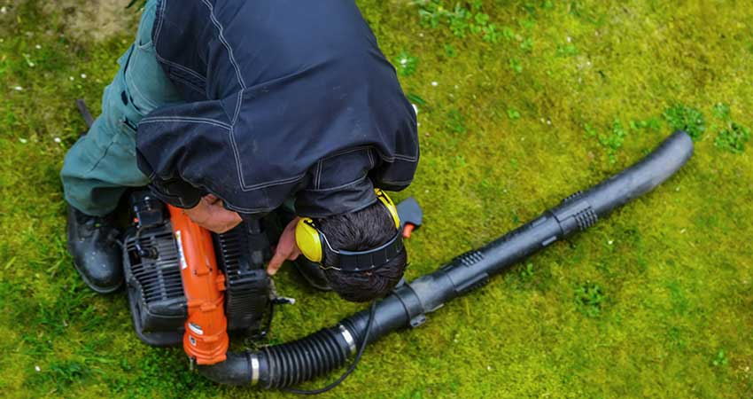 Leaf Blower Maintenance Tips
